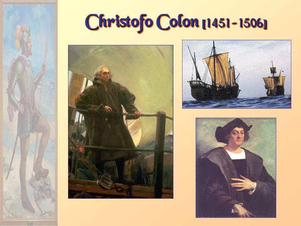 Christofo Colon [1451-1506]